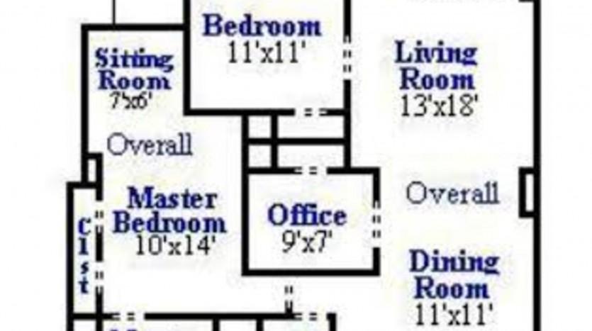 4025 Connecticut Ave NW Apt 101 - Floorplan